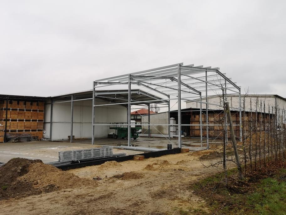 budowa hal stalowych